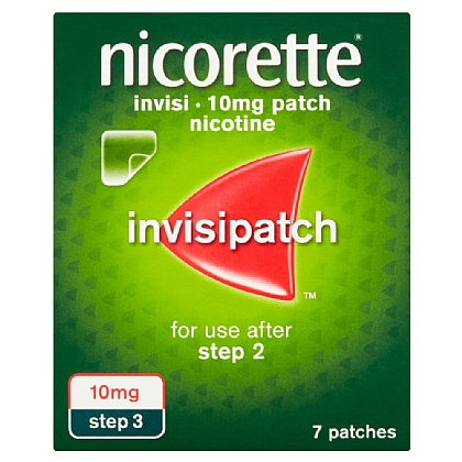 Nicorette Invisi-Patch 10mg Nicotine Patches - 7