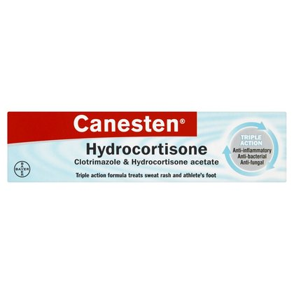 Canesten Hydrocortisone Cream (P) - 15g