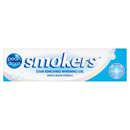 Pearl Drops Smokers Stain Removing Whitening Gel