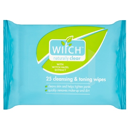 Witch Cleansing and Toning Wipes - 25 Pack