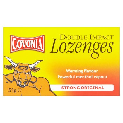 Covonia Double Action Cough Lozenges Strong Original - 51g