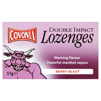 Covonia Double Action Cough Lozenges Berry Blast - 51g