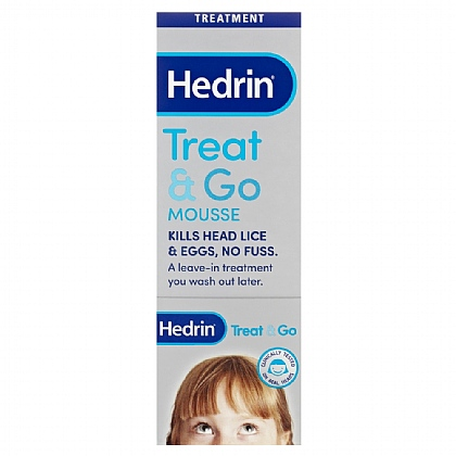 Hedrin Treat & Go Mousse - 100ml