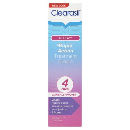 Clearasil Ultra Rapid Action Treatment Cream - 25ml