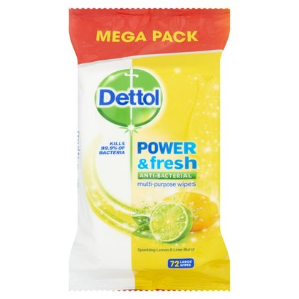 Dettol Anti-Bacterial Multi-Purpose Wipes