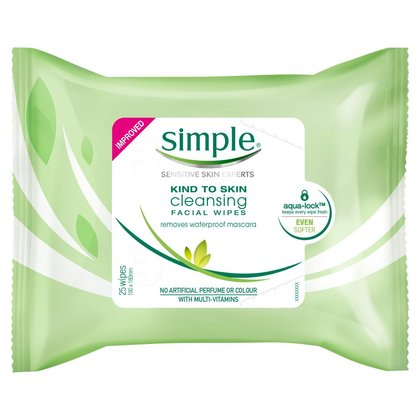 Simple Cleansing Wipes - 25