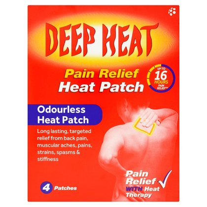 Deep Heat Patches - 4