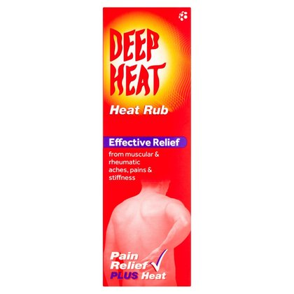 Deep Heat Cream Rub - 100g