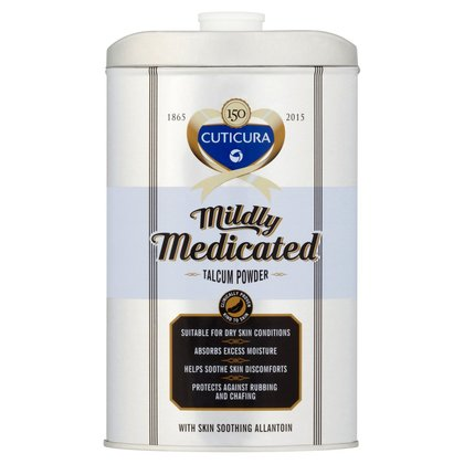 Cuticura Mildly Medicated Talcum Powder - 250g