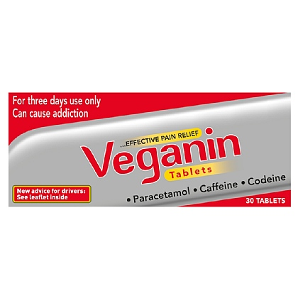 Veganin Tablets - 30