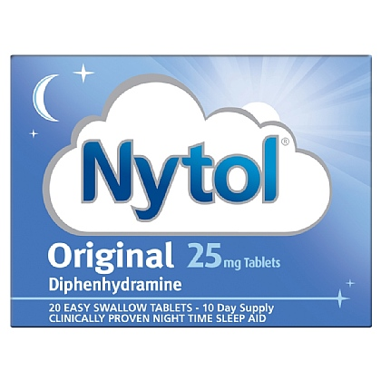 Nytol Original 25mg Tablets - 20