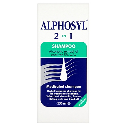 Alphosyl 2 in 1 Shampoo - 250ml