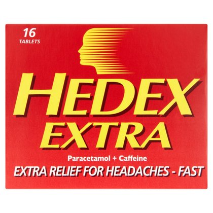 Hedex Extra Tablets - 16