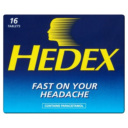 Hedex Tablets - 16