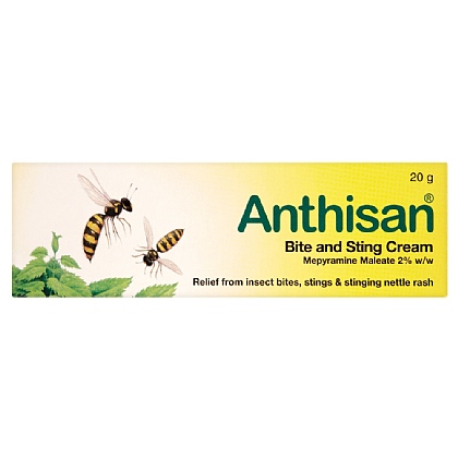 Anthisan Bite & Sting Cream - 20g