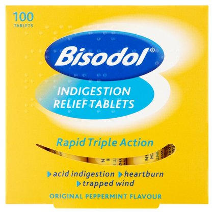 Bisodol Indigestion Relief Tablets - 100