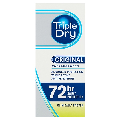Triple Dry Advanced Protection Anti-Perspirant Quick Dry Roll-On