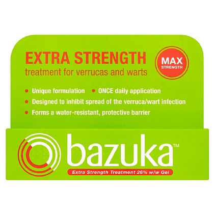 Bazuka Extra Strength Gel (GSL) - 6g