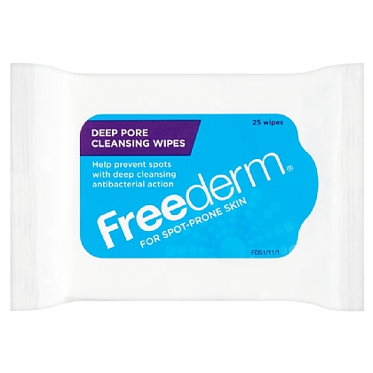 Freederm Deep Pore Cleansing Wipes - 25