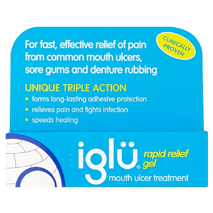 Iglu Rapid Relief Gel - 8g