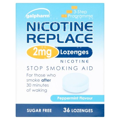Galpharm Nicotine Replace 2mg Lozenges