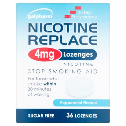 Galpharm Nicotine Replace 4mg Lozenges