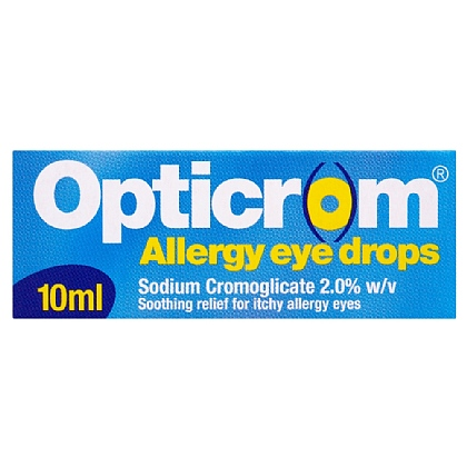 Opticrom Allergy Eye Drops - 10ml