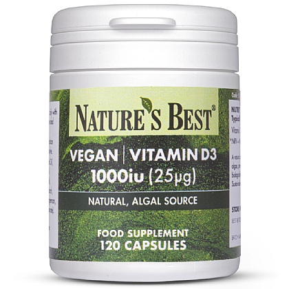 Vegan Vitamin D3 1000iu