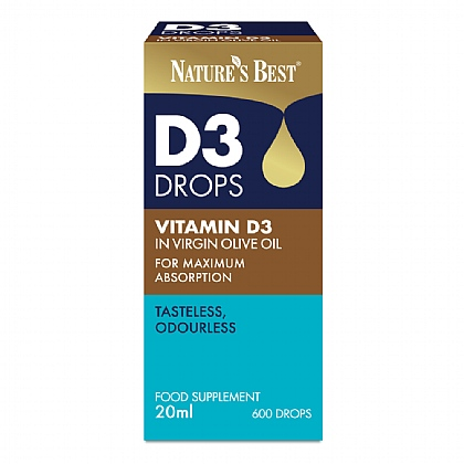 Vitamin D3 Drops 20ml