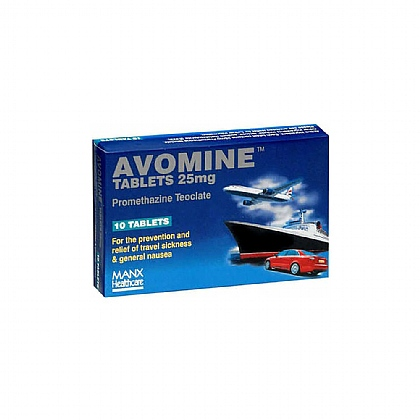 Avomine Sickness Tablets