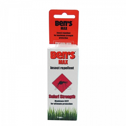 Ben's Insect Repellent 100 Safari Strength Pump Spray - 37ml