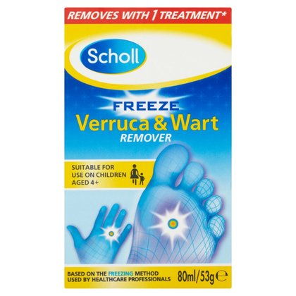 Scholl Freeze Verruca & Wart Remover - 80ml