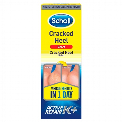 Scholl Cracked Heel Repair Cream K + - 60ml