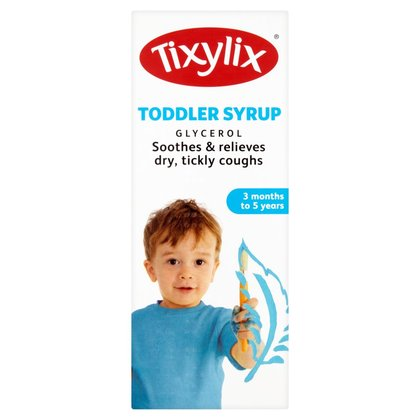 Tixylix Toddler Syrup 3 Months to 5 Years 150ml