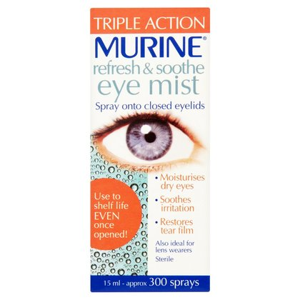 Murine Refresh & Soothe Eye Mist - 15ml