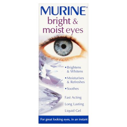 Murine Drops Bright & Moist Eyes - 15ml