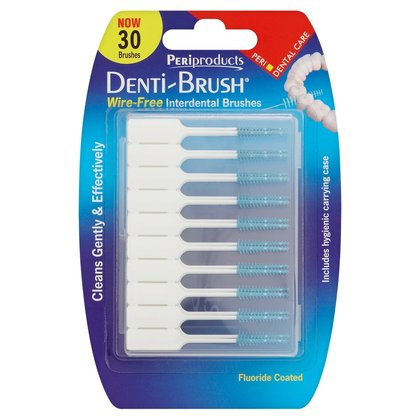 Periproducts Denti-Brush 30 Wire-Free Interdental Brushes