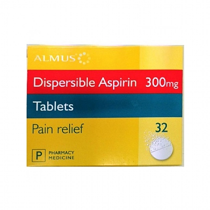 Almus Aspirin Tablets Dispersible 300mg