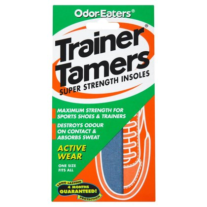 Odour Eaters Trainer Tamers Super Strength Insoles