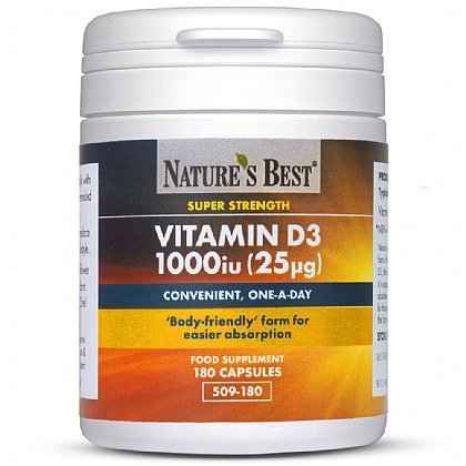 Vitamin D3 1000iu, High Strength