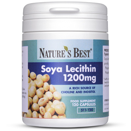 Soya Lecithin 1200mg, Rich Source of Choline & Inositol