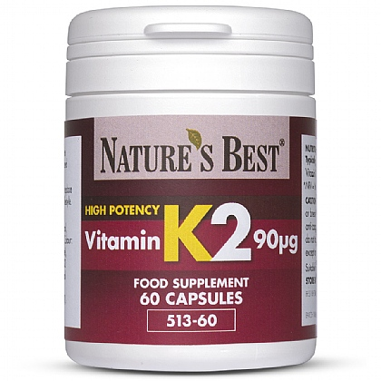 Vitamin K2 90µg, For Bone and Cardiovascular Support