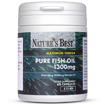 Maximum Strength Pure Fish Oil 1300mg