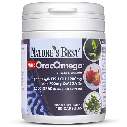 OracOmega<sup>®</sup>, A Premium Grade Pure Fish Oil With Plant Antioxidants