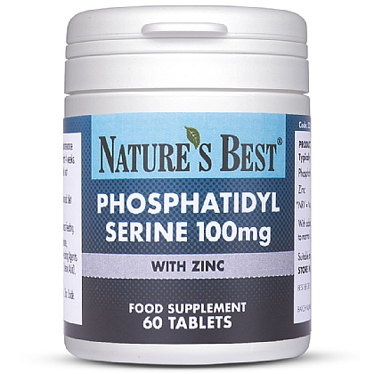 Phosphatidyl Serine 100mg, Contributes To Normal Cognitive Function*