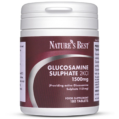 Glucosamine Sulphate 1500mg, With 1131mg of 'Active' Glucosamine