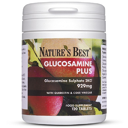 Glucosamine Plus Quercetin and Cider Vinegar, Unique High Strength Formula