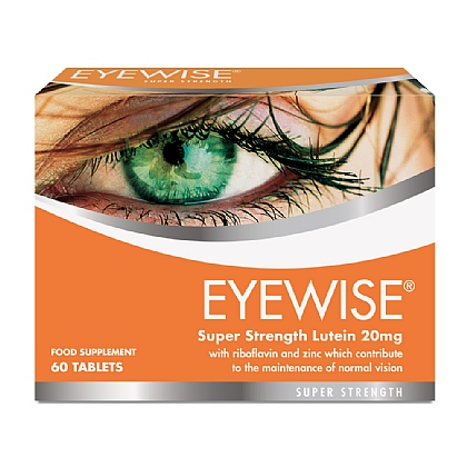Eyewise<sup>®</sup> Super Strength Lutein 20mg