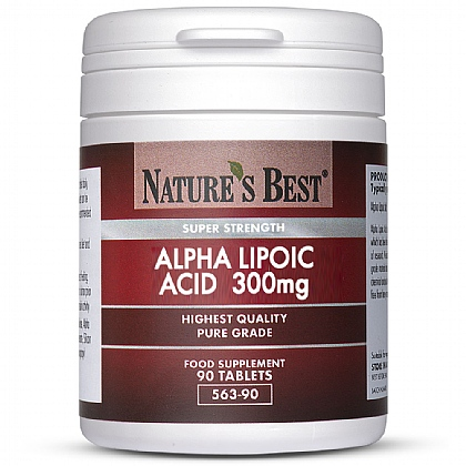Alpha Lipoic Acid 300mg, Super Strength and Purest Grade