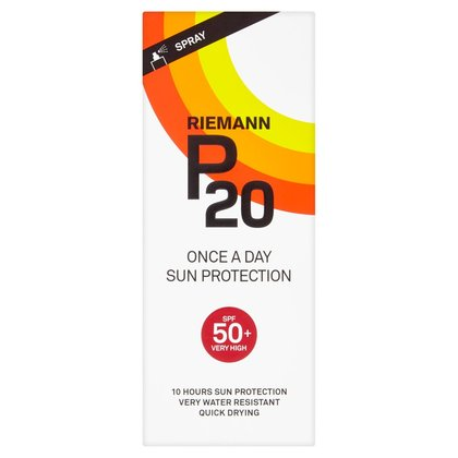 Riemann P20 Once a Day Sun Protection Spray SPF 50+ Very High